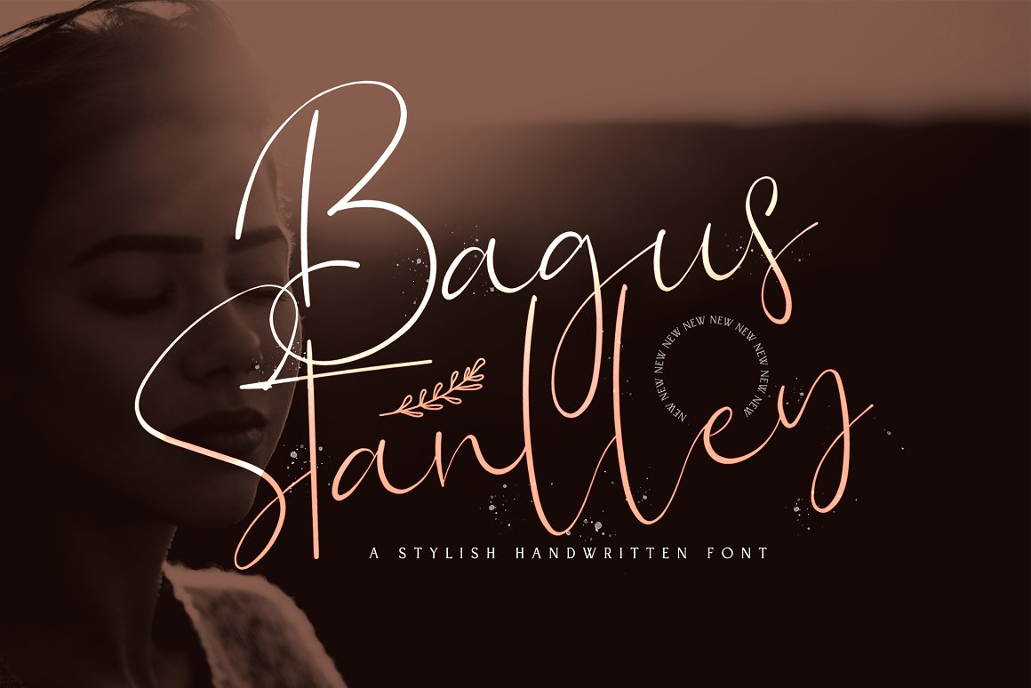Bagus Stanlley Stylish Script Font -1