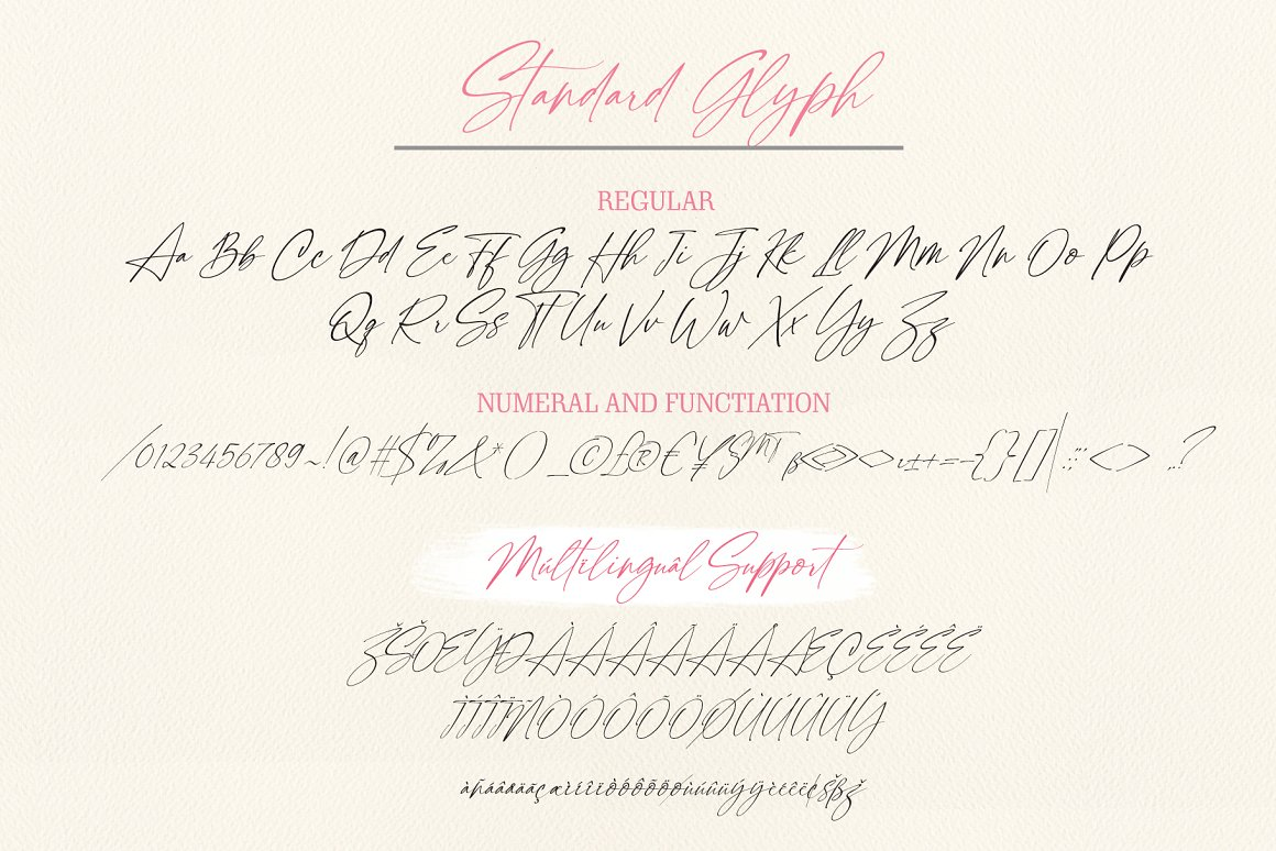 Black Stanky CalligraphyFont -3