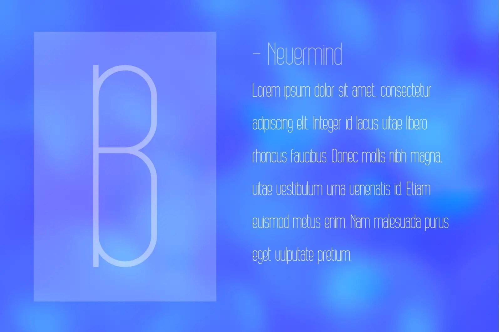 Bobogo Sans Serif Font -2