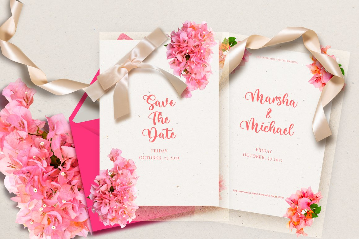 Bright Holiday Script Calligraphy Font -2