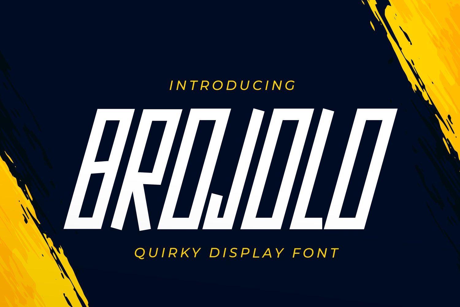 Brojolo Quirky Display Font -1