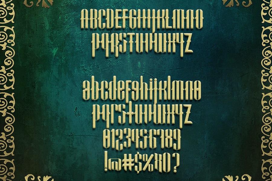 Cadallis Blackletter Font -3