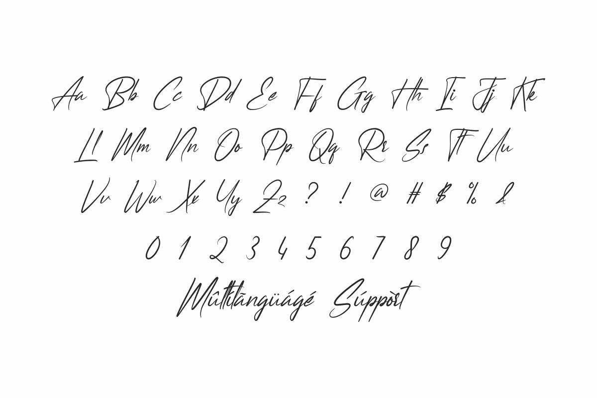 Headmask Handwritten Font -3