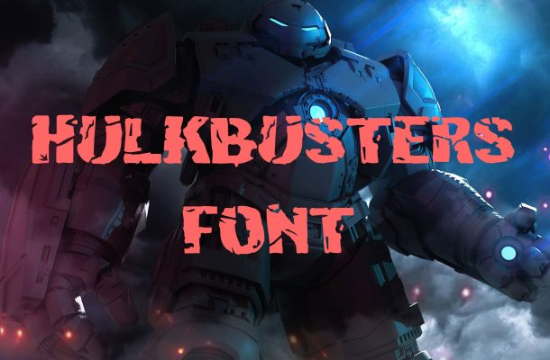 Hulkbusters Font Free