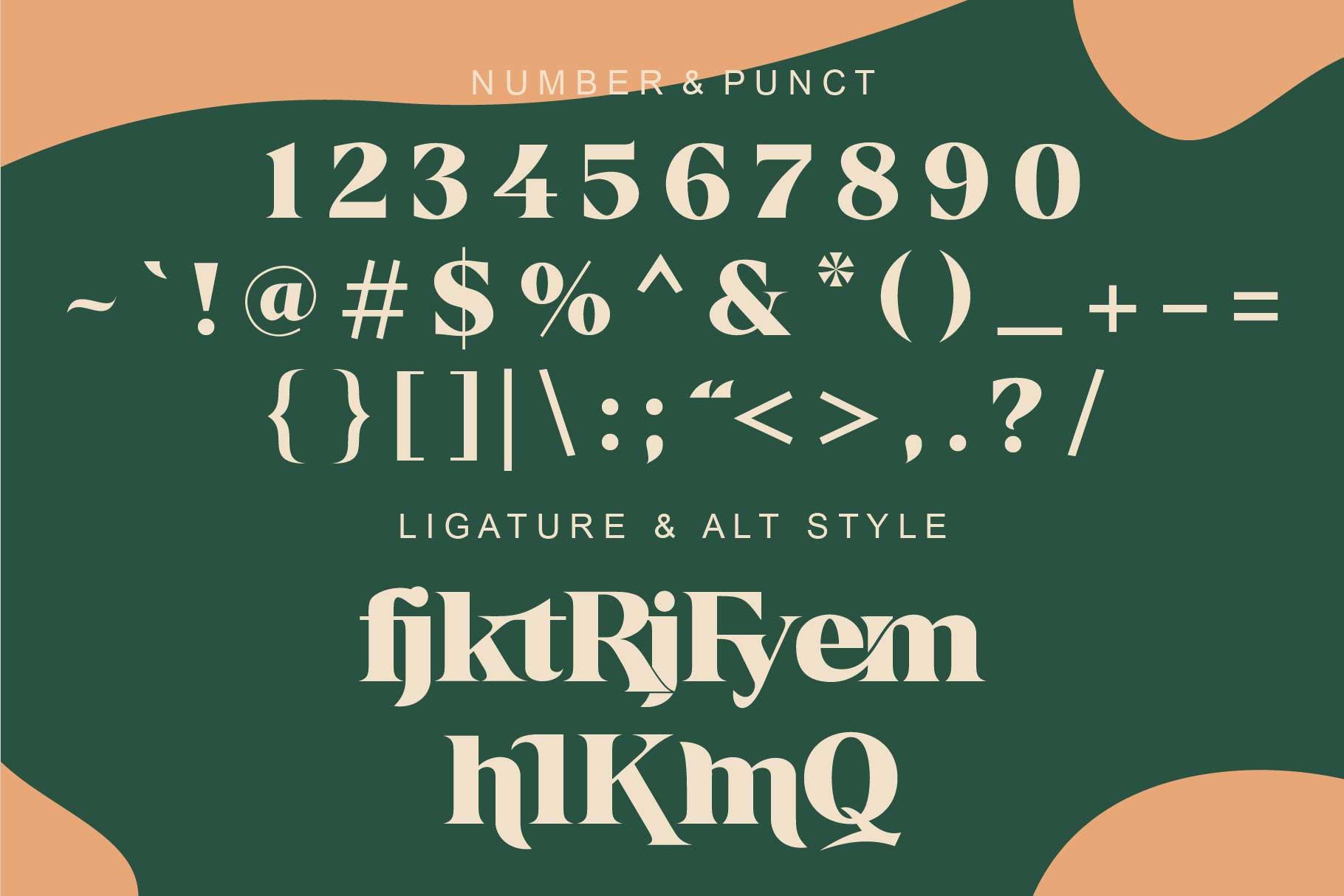 Kermhit Serif Font -3