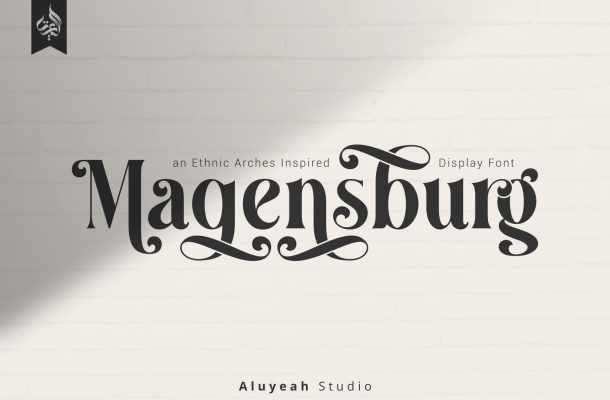 Magensburg Font