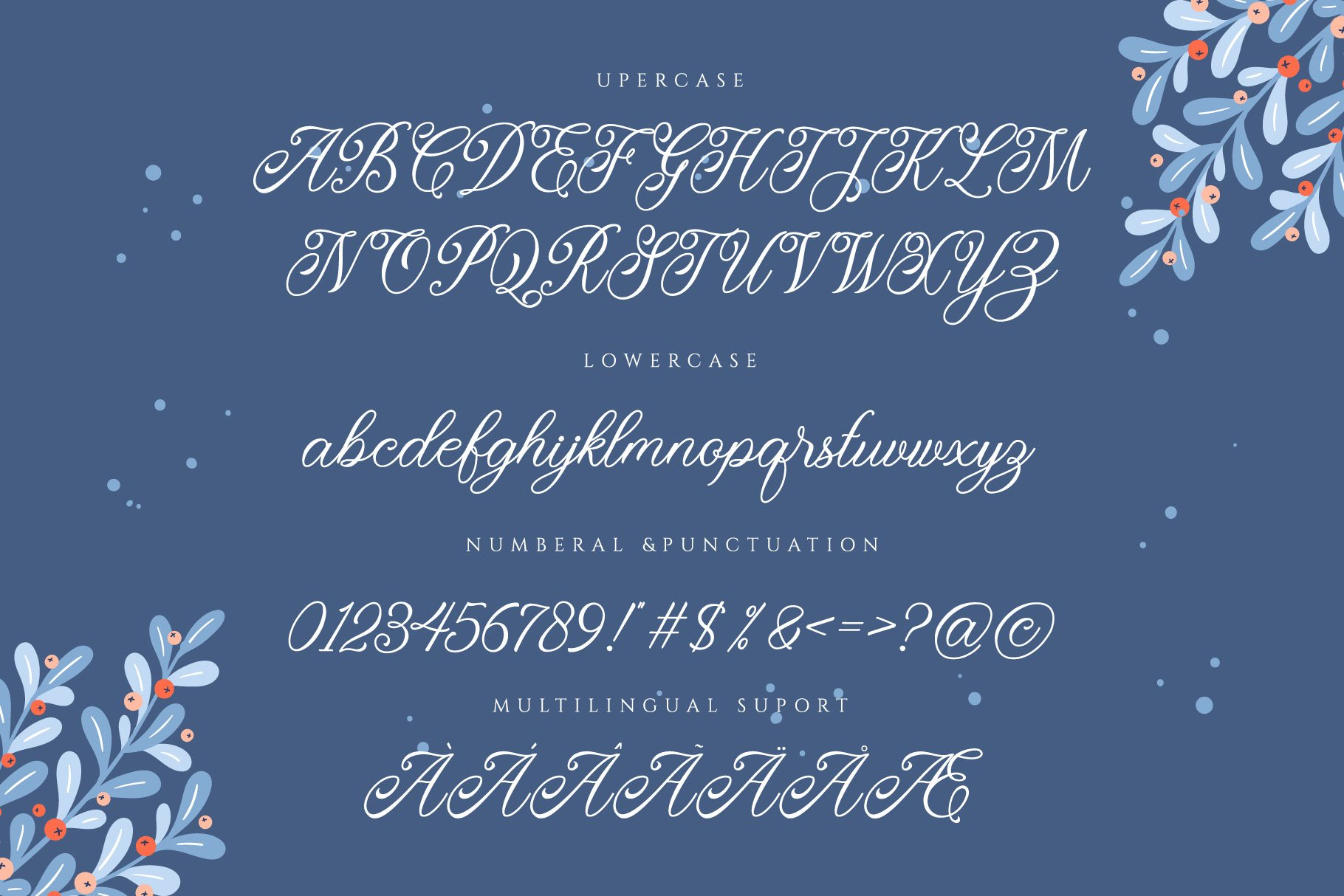 Monitha Beaty Script Font -3
