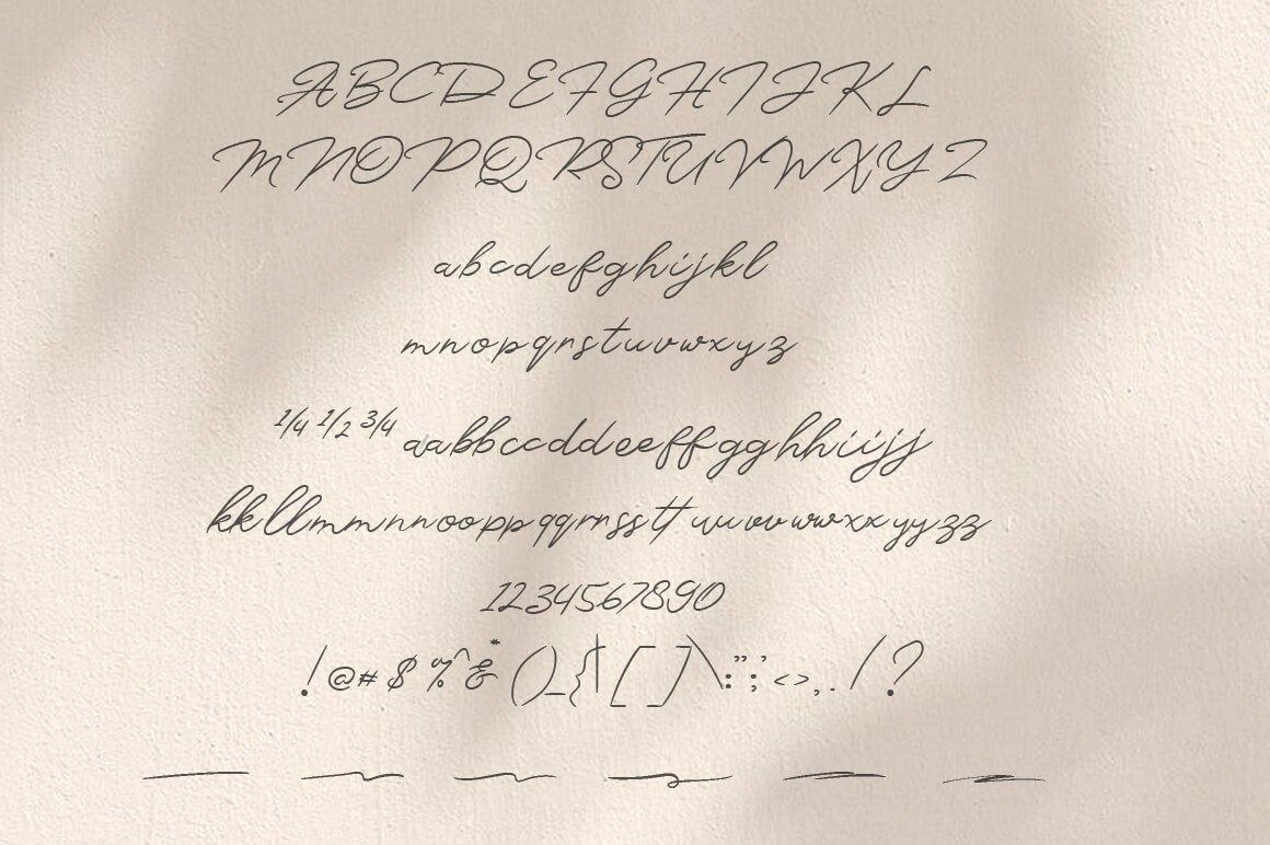 Monsttera Handwritten Font -3