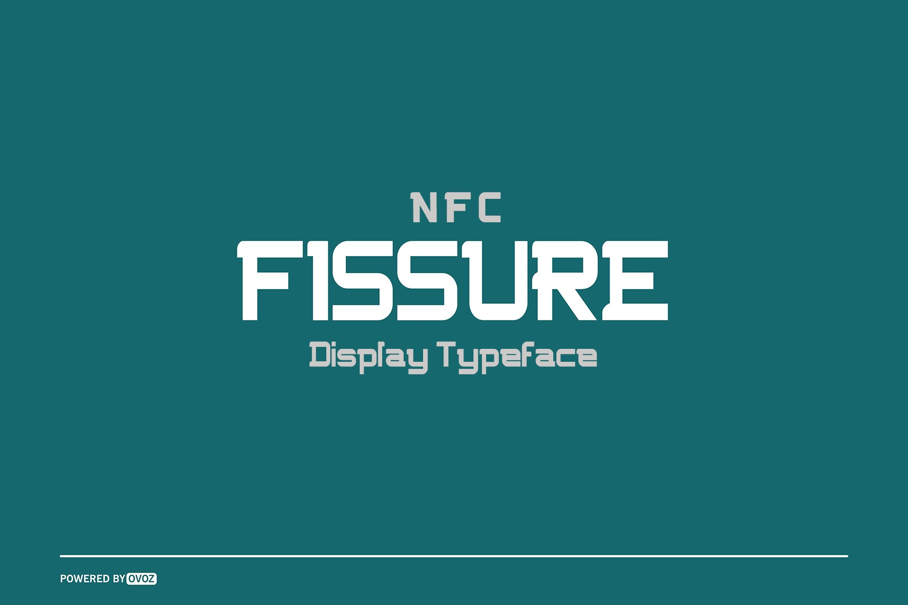 NFC FISSURE DISPLAY FONT-1