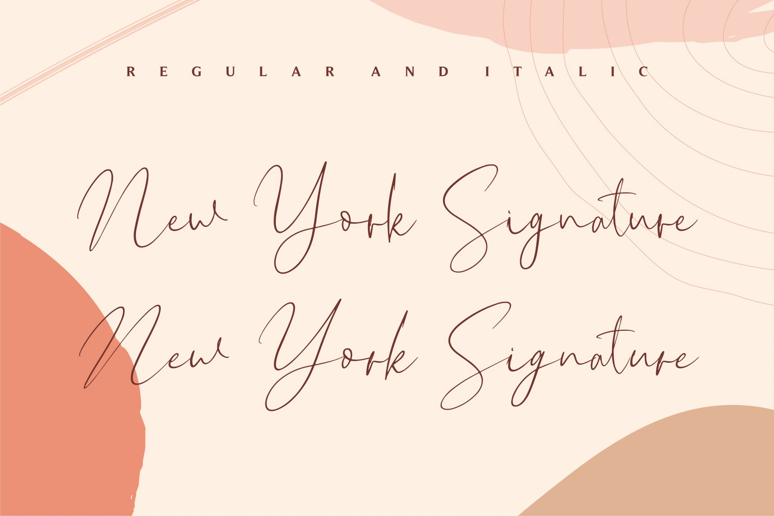 New York Signature Luxury Signature Font-2
