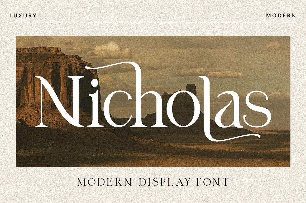 Nicholas Serif Font -1