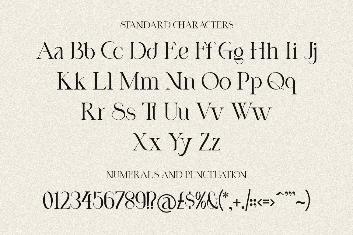 Nicholas Serif Font -3