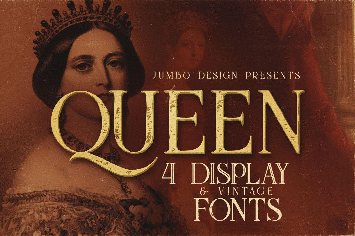 Queen Display Font-1