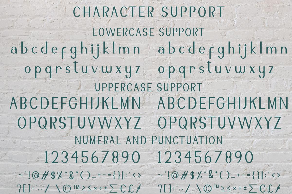 Ravenously Sans Serif Font -3