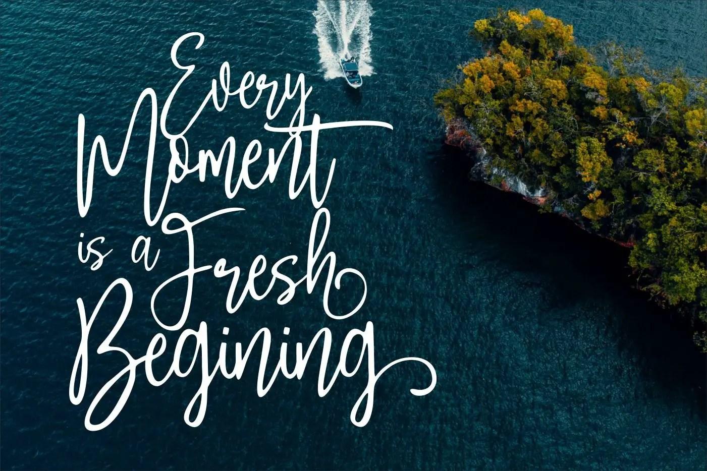 Saturday Wishes Stylish Handwritten Font -3
