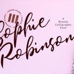 Sophie Robinson Font