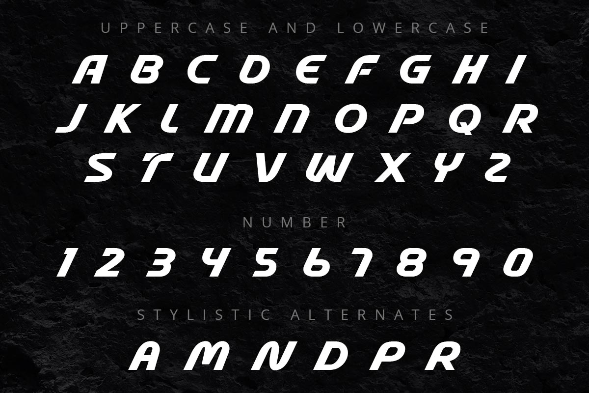 Stable Elegant Display Font -3