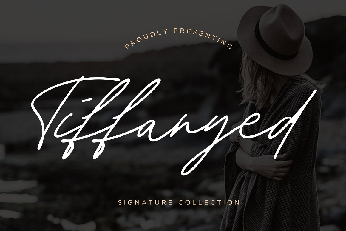 Tiffanyed Signature Collection Font-1