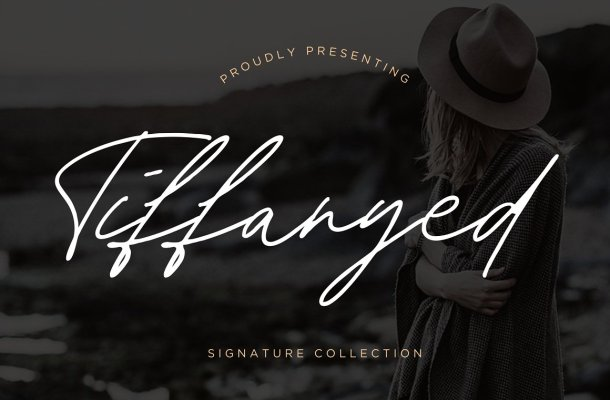 Tiffanyed Font