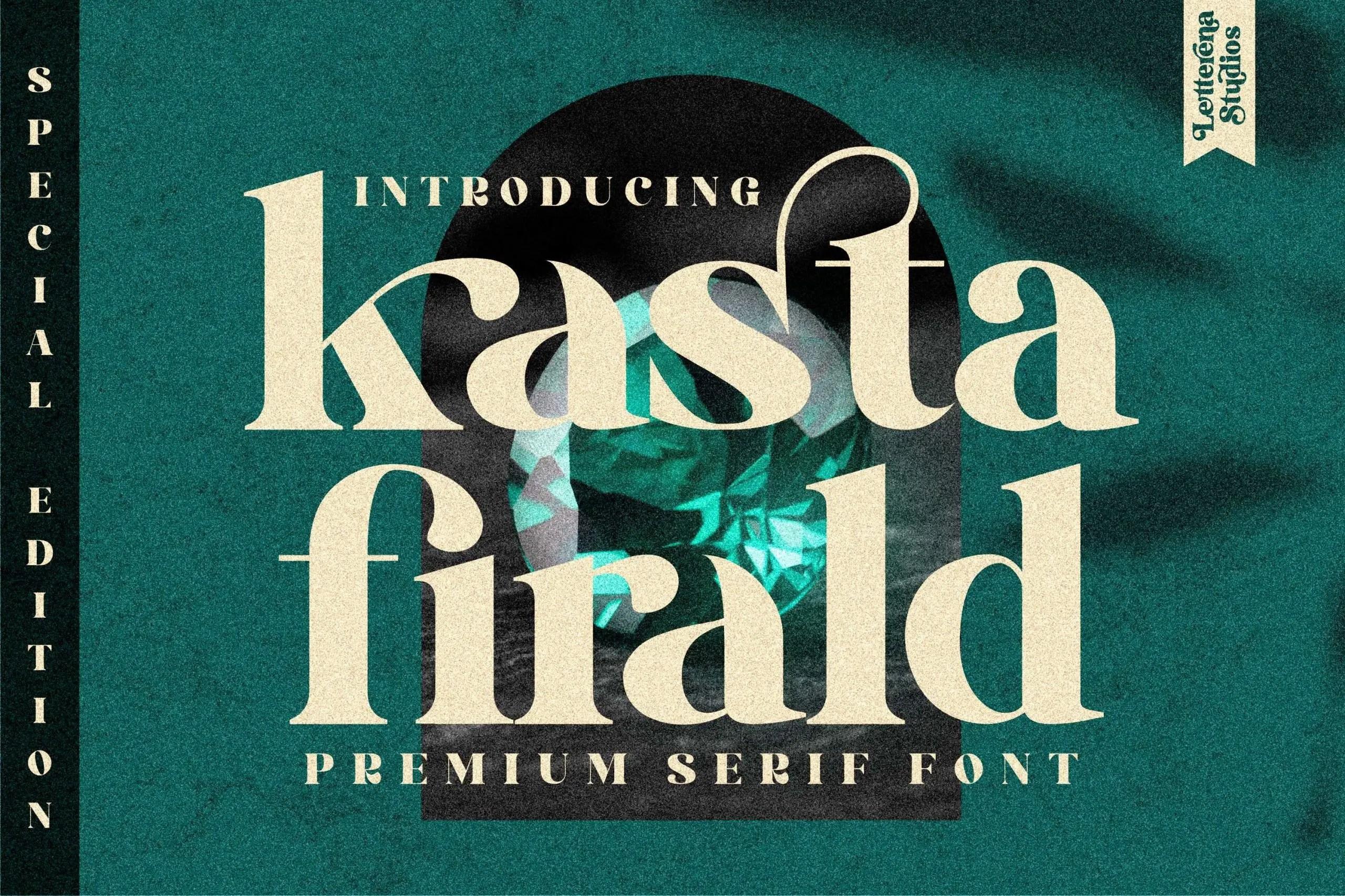 kasta firald Luxury Serif Font -1