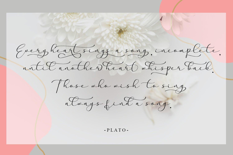 Aaqheella Modern Calligraphy Font -2