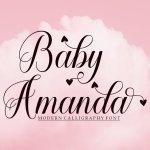 Baby Amanda Font