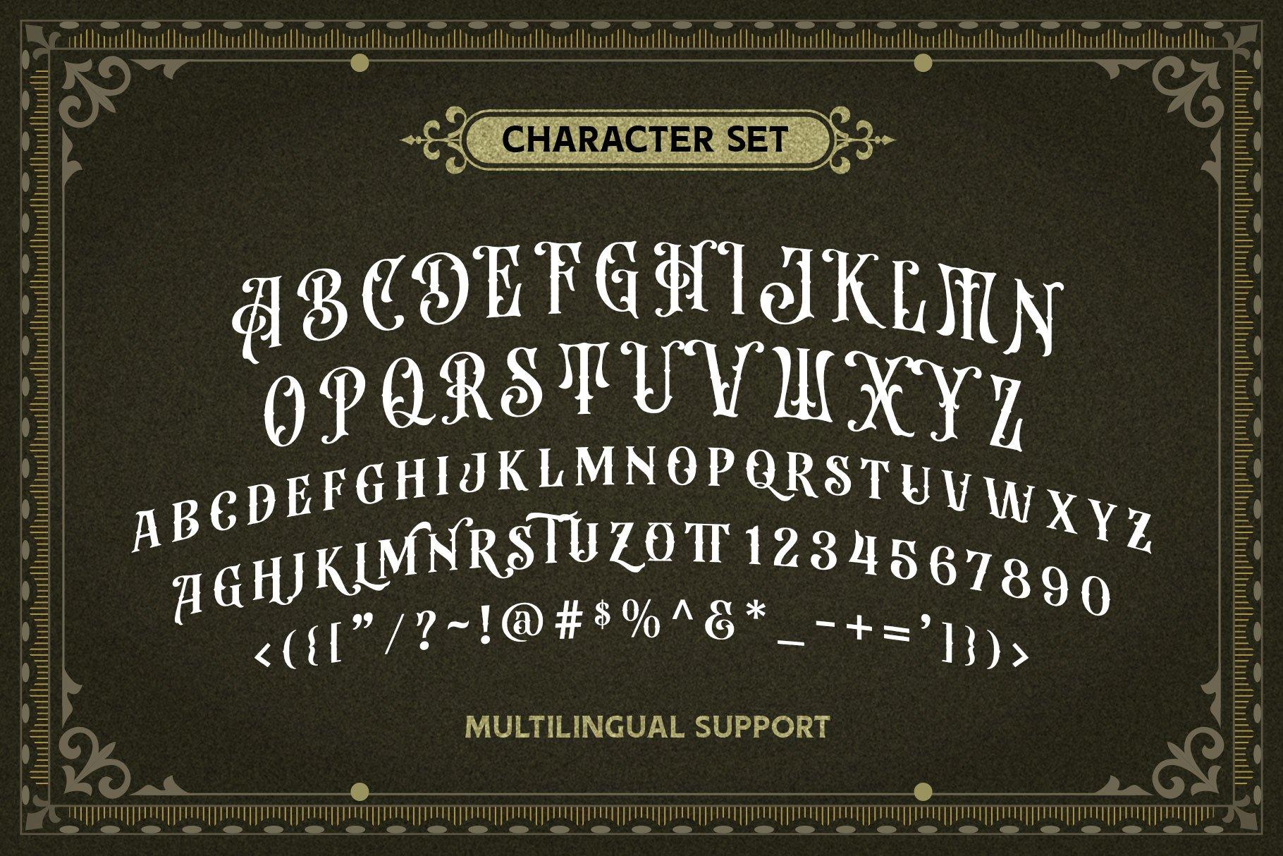 Beardsons Layered Font -3