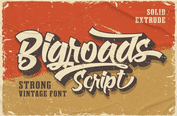 Bigroads Font