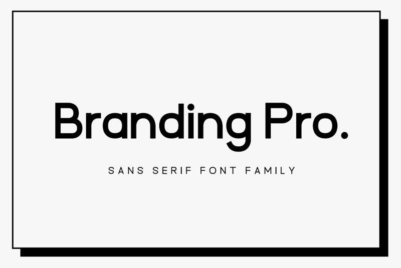 Branding-Pro-Font