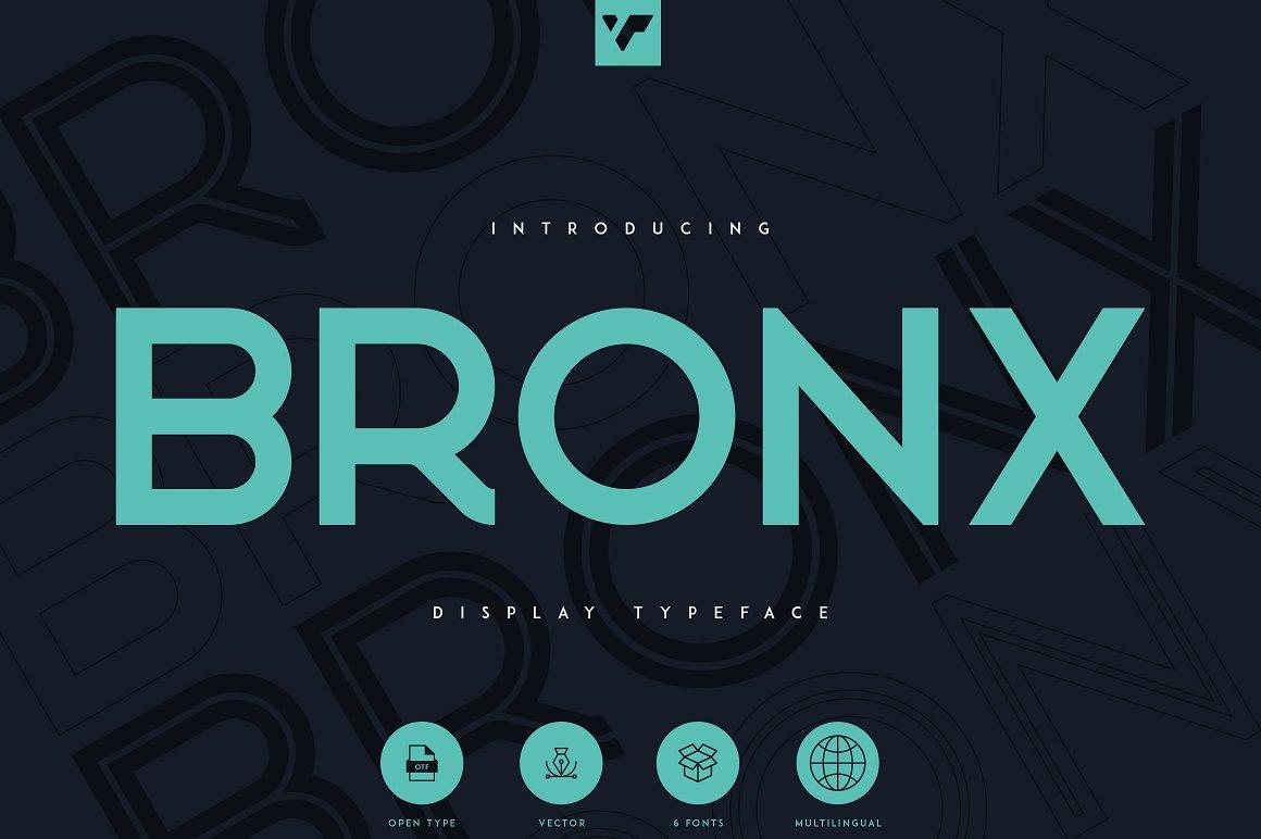 Bronx Sans Serif Typeface -1