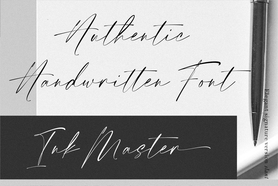 Elegant Signature Script Handwritten -2