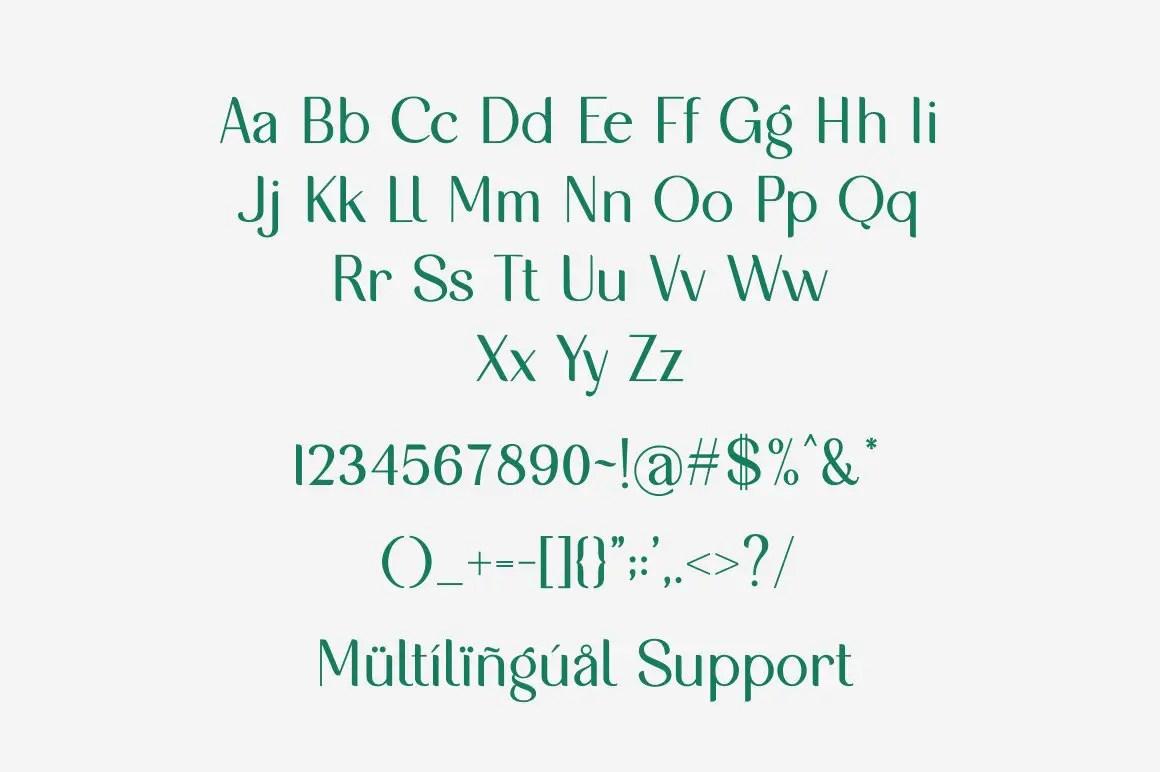 Galgony Elegant Sans Serif Font -3