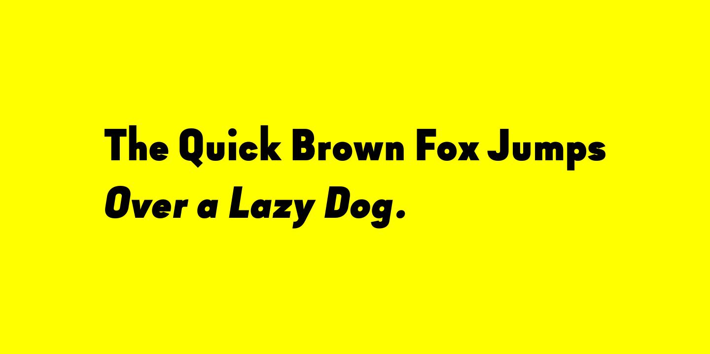 Goldbill Sans Serif Type Family -2