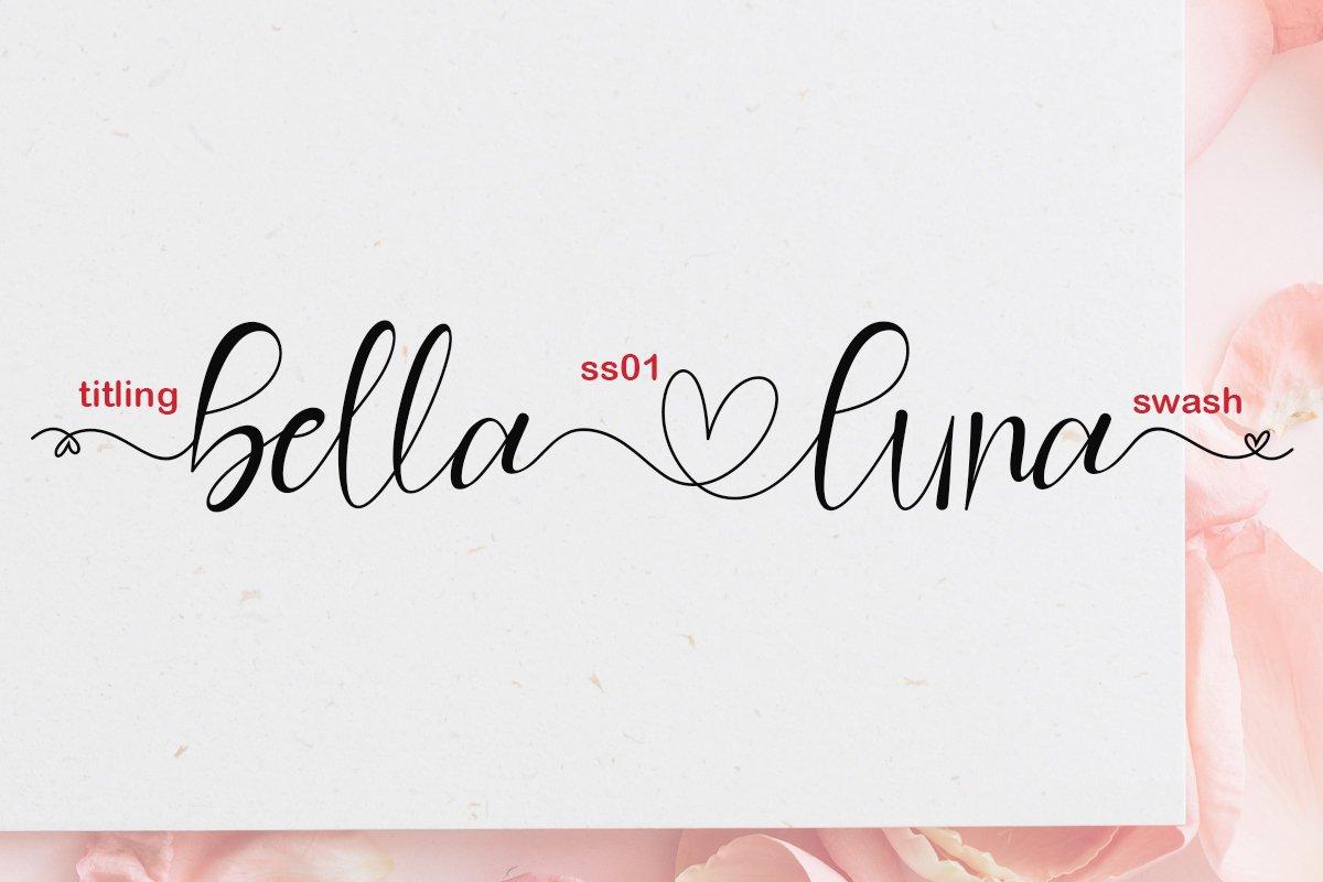 Hello Valentine Calligraphy Font -2