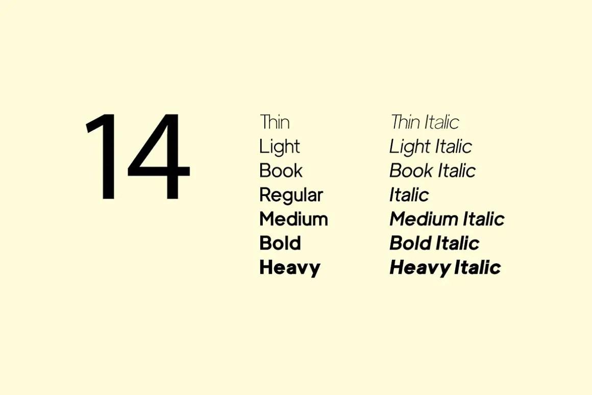 Luxora Grotesk Minimalist Typeface -3