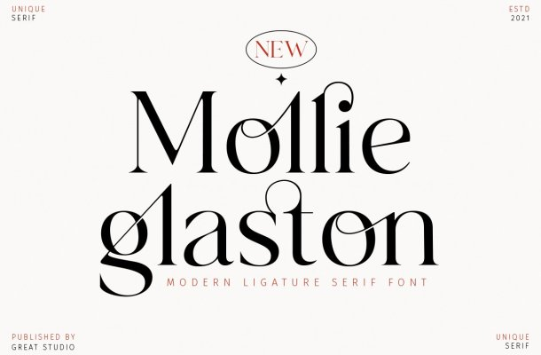 Mollie Glaston Font
