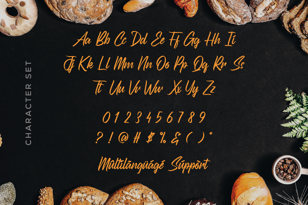 Scatterings Brush Script Font -3