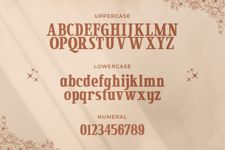 Secret Mansion Modern Serif Font -2