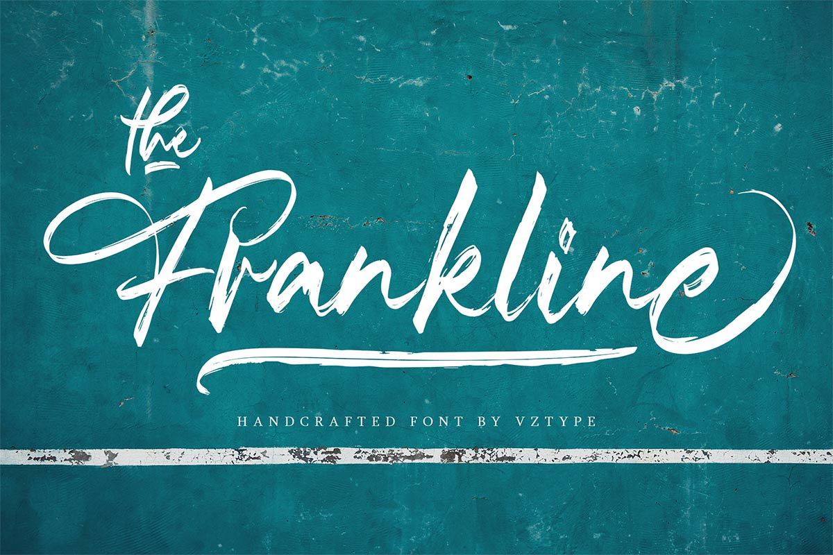 The Frankline Modern Handwritten Font -1
