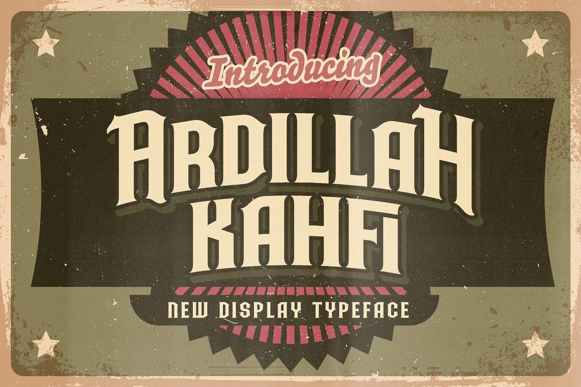 Ardilah Kafi Victorian Style Font -1