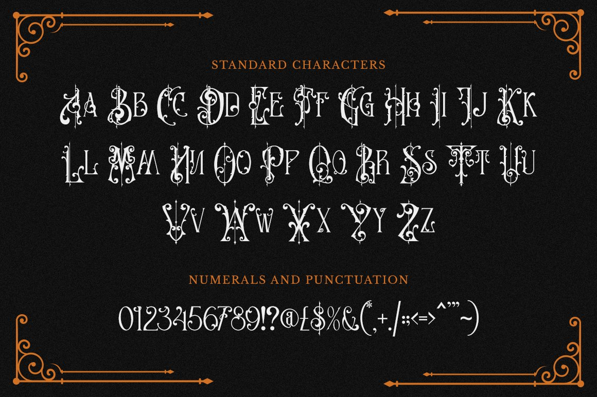 Blackshot Blackletter Font -3