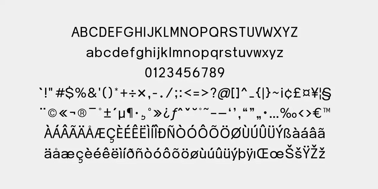 Clista Sans Serif Font -2