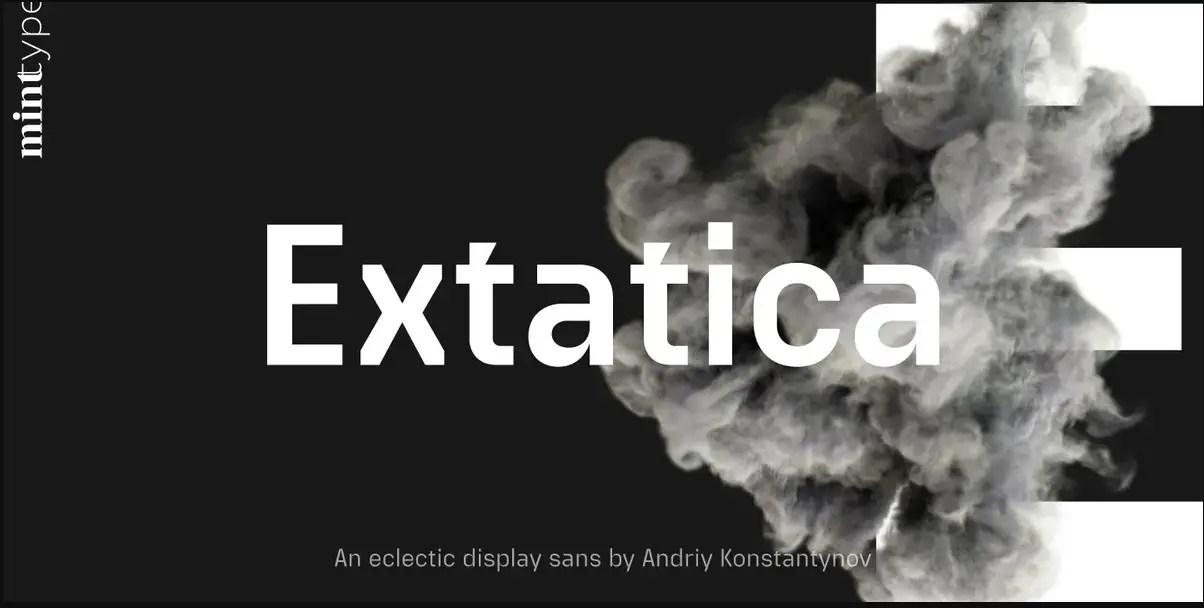 Extatica Sans Serif Font -1