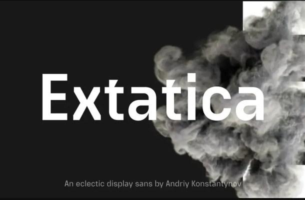 Extatica Font