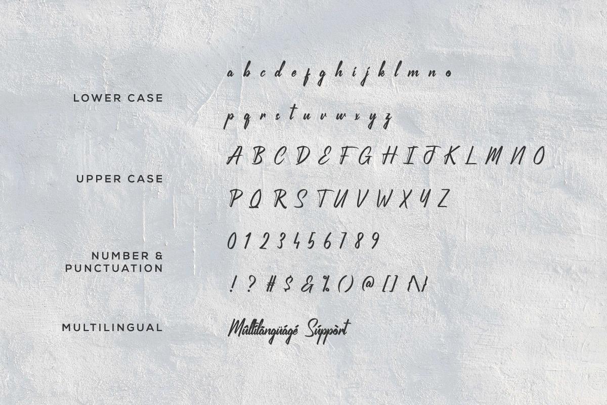 Freakish Grunge Brush Font -3