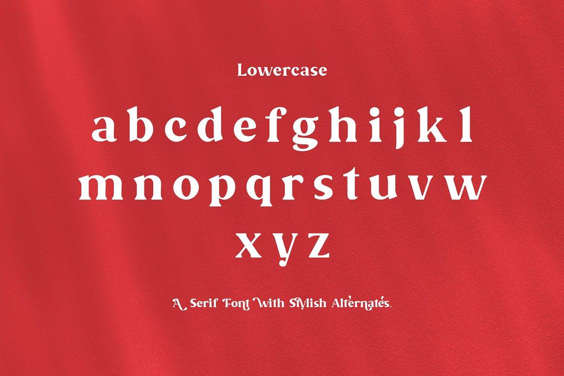 Malevolent Serif Font -2