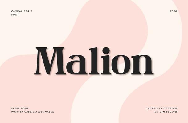 Malion Font