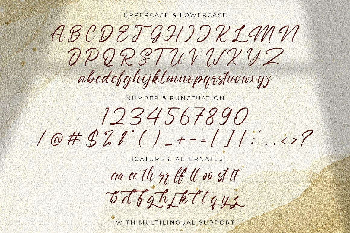 Nathallis Handwritten Script Font -3