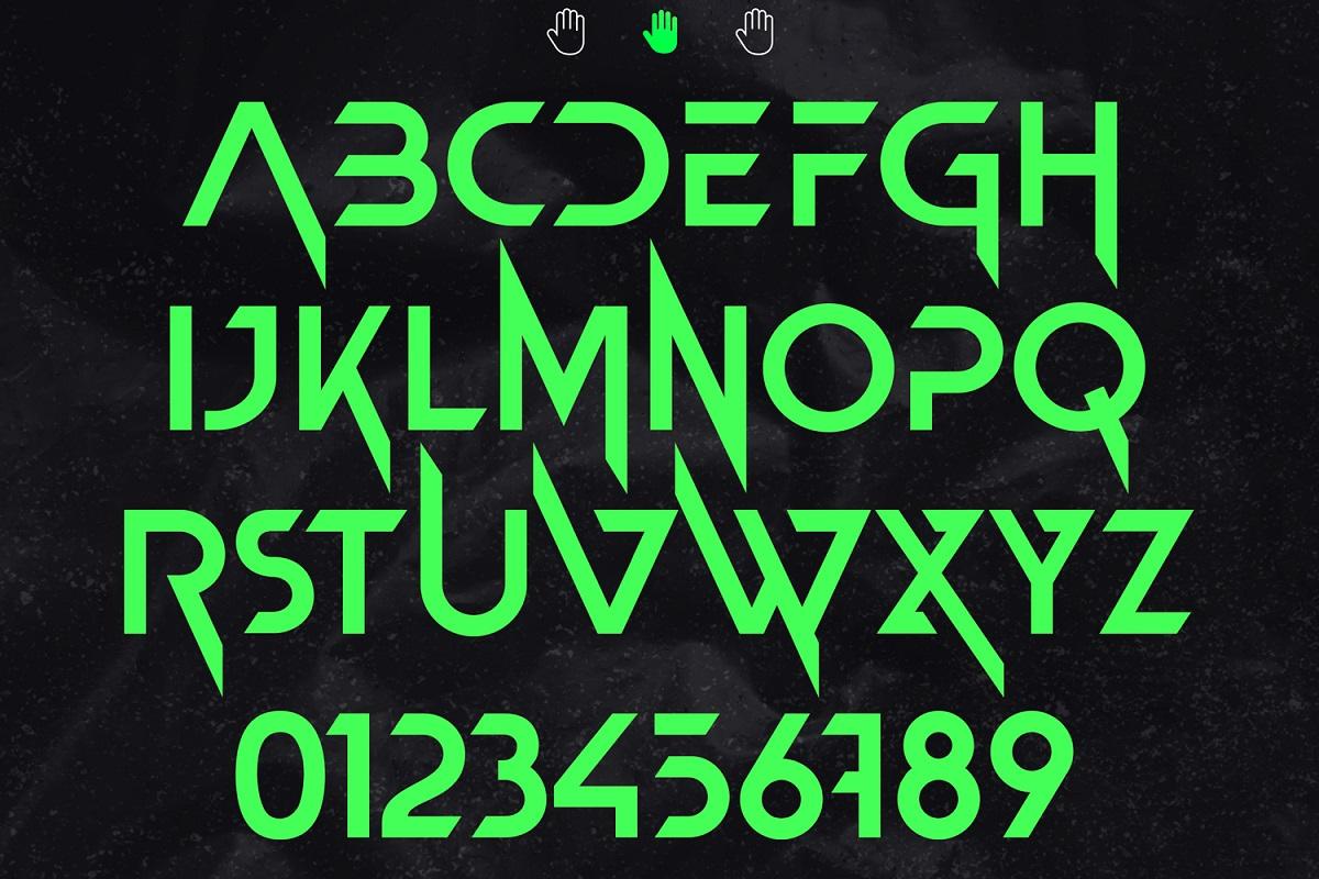 Newton Howard Sans Serif Font -3