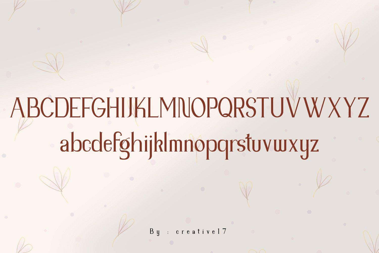 Rimera Romantic Serif Font -2
